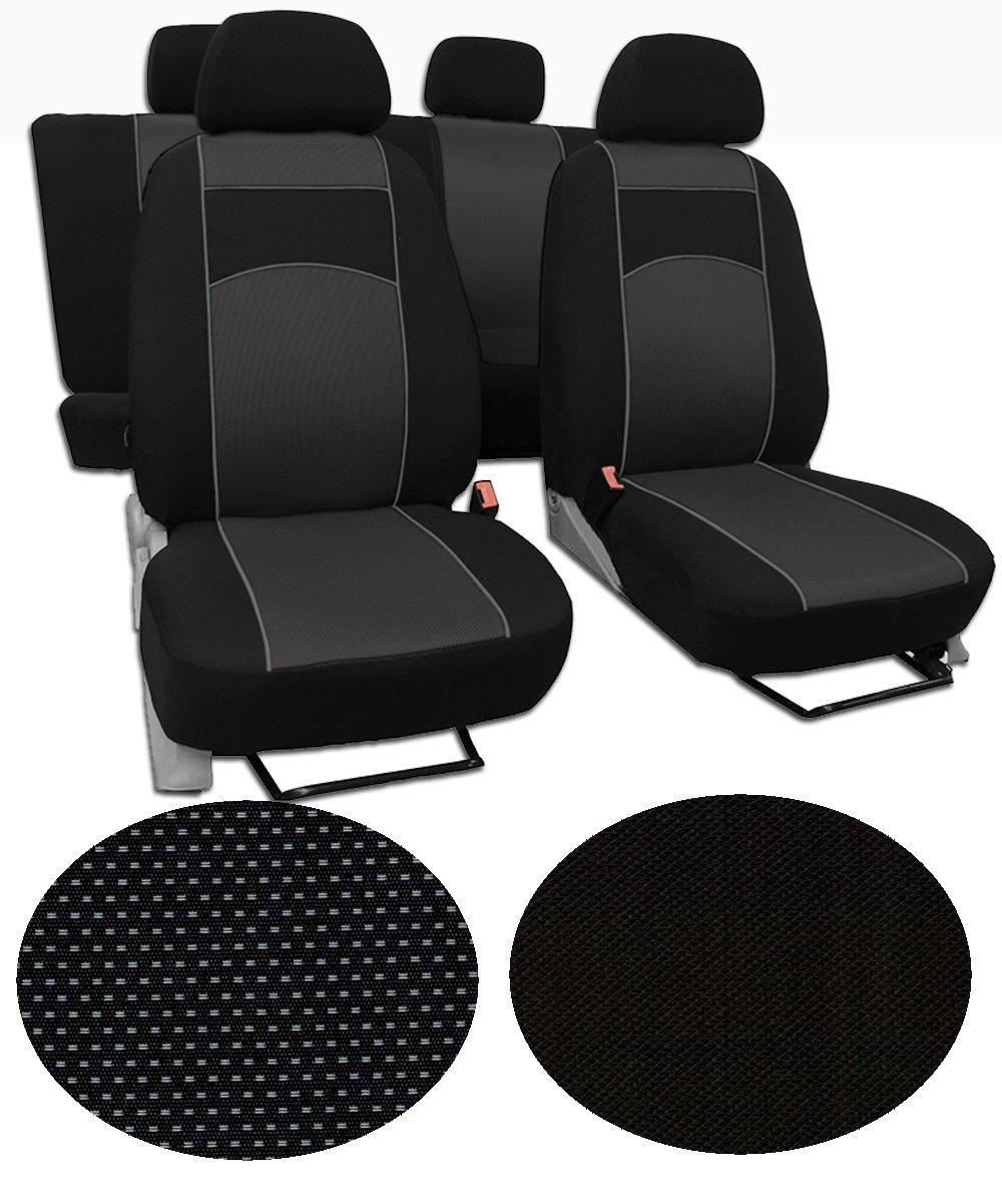 /1 extra lange Design VIP/ Sitzbez/üge f/ür Toyota Yaris 2/Super Qualit/ät