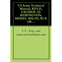 US Army Technical Manual, RIFLE, CALIBER .22: REMINGTON, MODEL 40X-H1, W/E (MATCH GRADE), RIFLE, CALIBER .22: WINCHESTER, MODEL 52D, W/E (MATCH GRADE), ... W/E (MATCH GRADE), TM 9-1005-206-14P/4