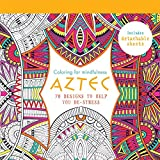 Adult coloring book coloring book for adults featuring 30 beautiful aztec 70 designs to help you de stress coloring for mindfulness fandeluxe Image collections
