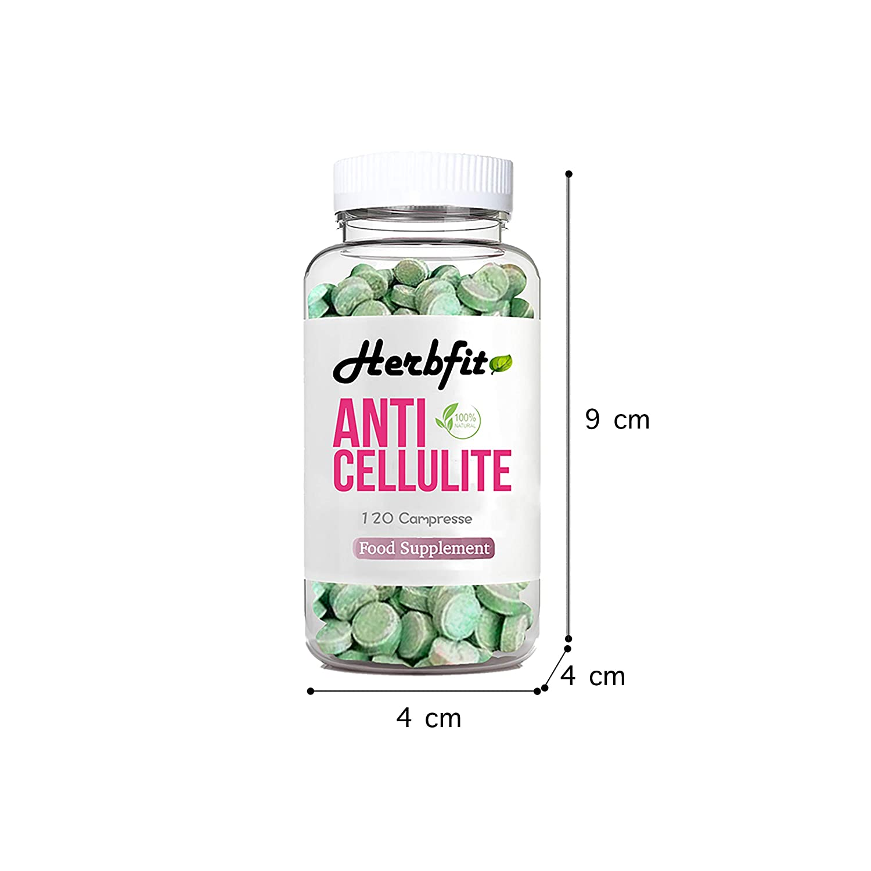 Herbfit Anticelulitis | Suplemento Natural | 120 Pastillas Para Adelgazar Y Eficaces Para Quemar Productos De Pérdida De Grasa | Para Perder Rápidamente ...