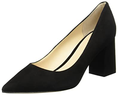 9e7a2d4e699 Marc Fisher Womens Zala Black Suede Pump - 6