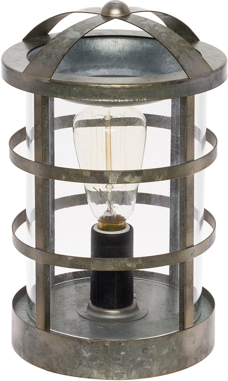 Mindful Design Edison Bulb Wax Warmer - Galvanized Medieval Wax Melter (Silver)