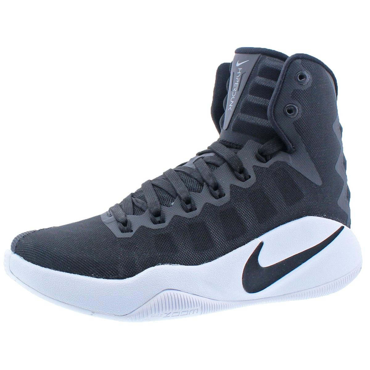 newest 9aec6 7ce00 Galleon - Nike Hyperdunk 2016 Women s Mesh Mid-Top Basketball Shoes Black  Size 5