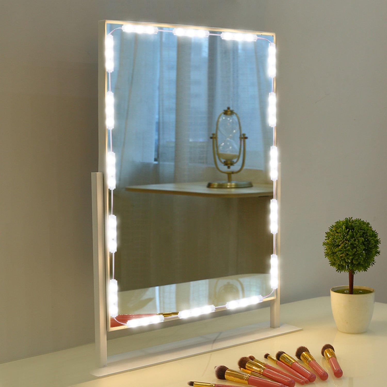 Makeup Mirror Light, 9.8FT 60 LED Vanity Mirror Lights Kits for ...