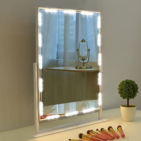 Makeup Mirror Light, 9.8FT 60 LED Vanity Mirror Lights Kits for ...