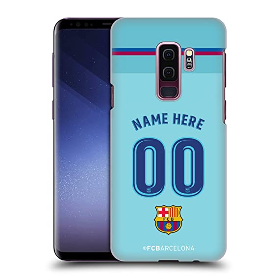 f63716fdd97 Image Unavailable. Image not available for. Color  Custom Customized  Personalized FC Barcelona Away 2017 18 Kit Hard Back Case for Samsung Galaxy