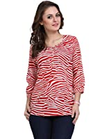 DeDe'S Strips Collage Beauty-Red