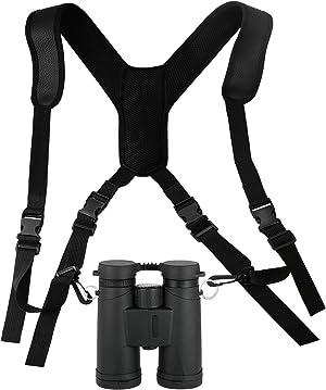 Deokke Bino Basics Binocular Strap Harness for Binocular DSLR Cameras