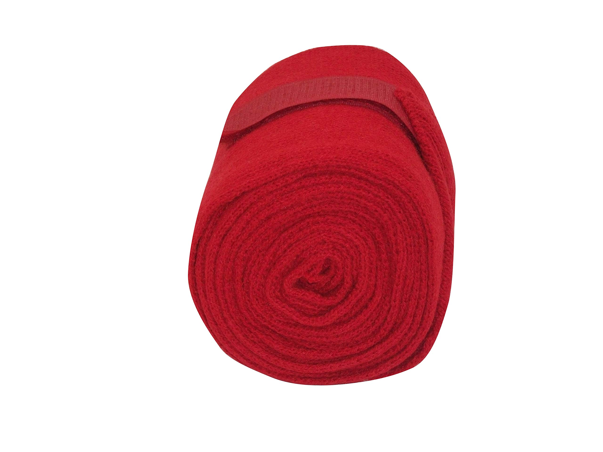 Protack Stable/travel Bandages Knitted Red x 4 Pack