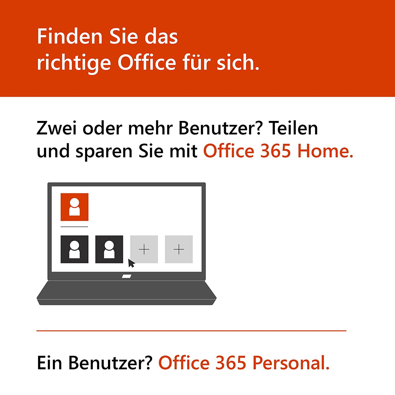 Microsoft Office 365 Home Multilingual 5 Nutzer Mehrere Pcs