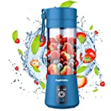 Portable Blender, Supkitdin Personal Mixer Fruit Rechargeable with USB, Mini Blender for Smoothie, Fruit Juice, Milk Shakes,