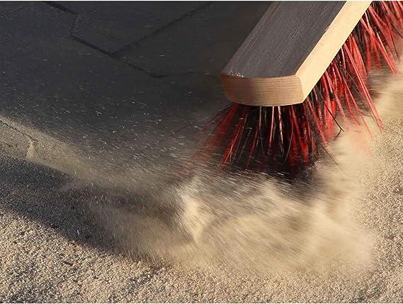Manche /à Balai en Bois Pinus Taeda 140 cm de Longeur et /Ø 24mm Ideen in Textil Balai Multi-Usage Balai de Rue Primaflor
