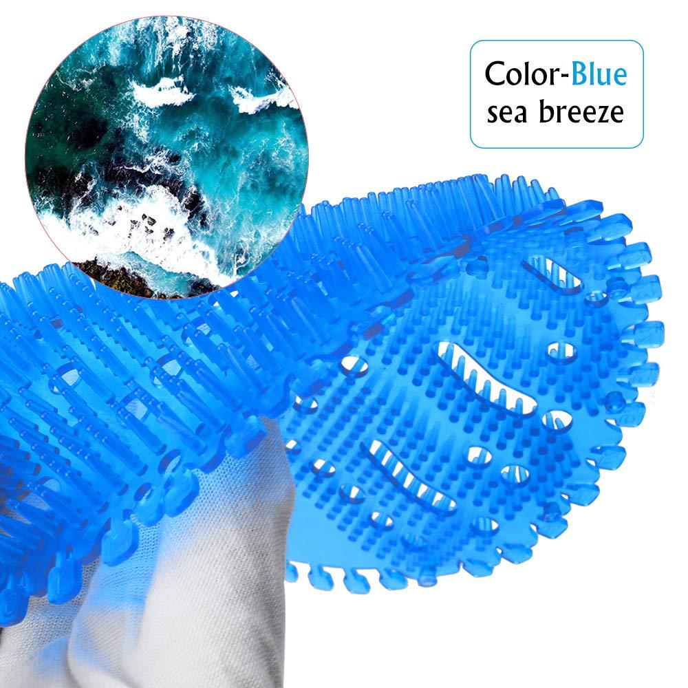 5 parfum diff/érent Urinoir Ecran 10 pcs /Écran pour urinoir Clapur avec 13 paires de gants jetables