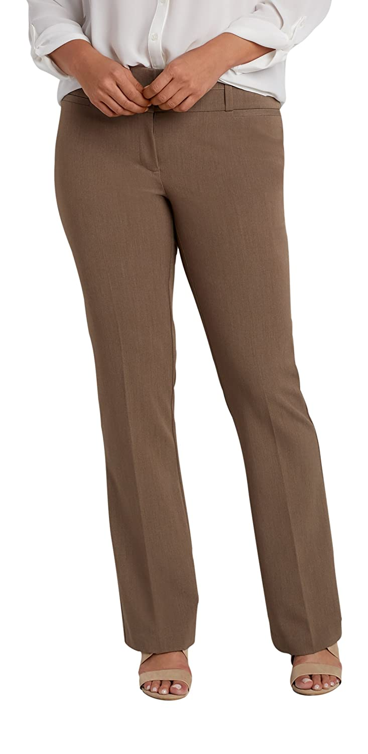 Maurices Women's The Plus Size Smart It Fit Bootcut Pant In Mocha