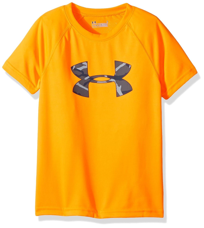 Under Armour Boys Big Logo Short Sleeve Tee Shirt