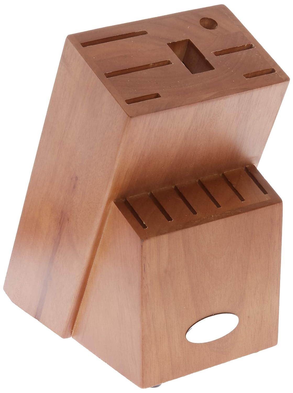 Oster 81011.14 Evansville 14 Piece Stainless Steel Cutlery Block Set Red Handles