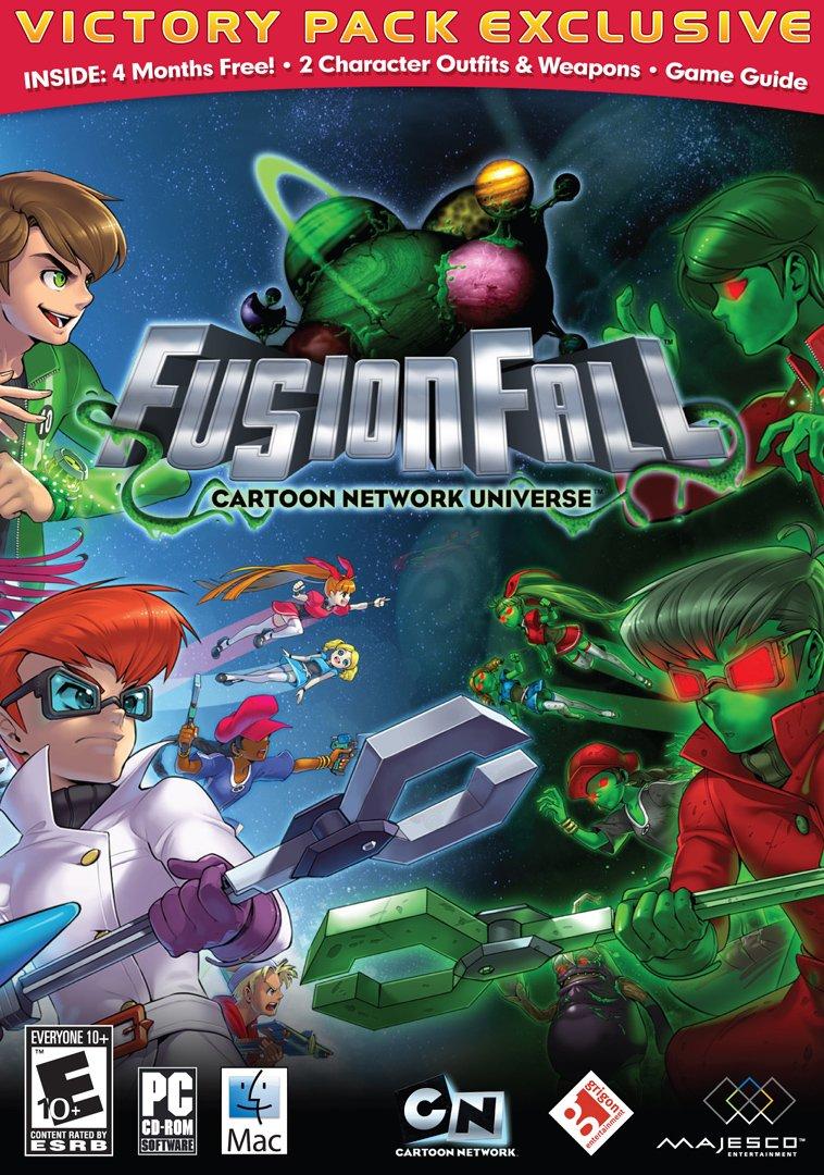 Amazon Com Cartoon Network Universe Fusion Fall Pc Video Games