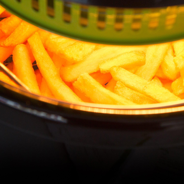 Freidora sin aceite multifunción, cocina dietética. Fríe, tuesta, asa y hornea. Potencia de 1000W. Incluye recetario. CecoFry Compact de Cecotec (4 litros): ...