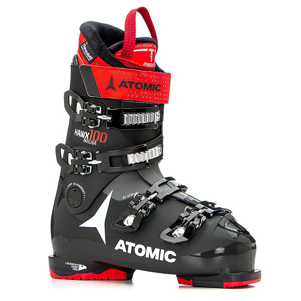 Black//Red 000 Atomic Unisex Adults/' ABO ATO All Mtain Inl Snow Boots, 7.5 UK