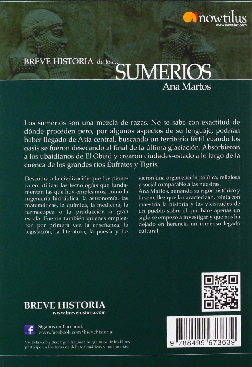 Breve historia de los sumerios: Amazon.es: Martos Rubio, Ana ...