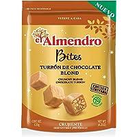 El Almendro Bites De Turrón De Chocolate Crujiente