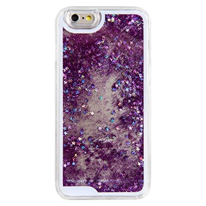 purple glitter case for iphone 6