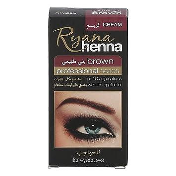 771aaccb0 Ryana Henna Brown Eyebrow Color Shaping, 30 ml: Amazon.ae: Paris.Shop