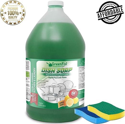 Detergente de jabón GreenFist para platos de mano, limpiador ...