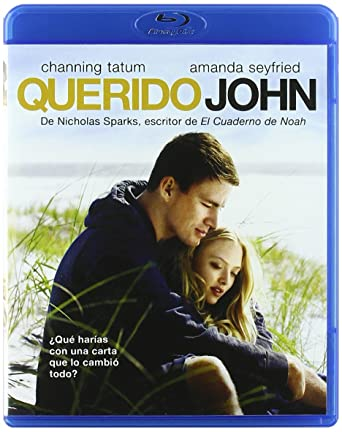 Querido John Blu Ray Amazones Channing Tatum Amanda Seyfried