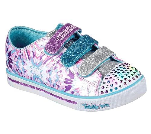 Skechers Sparkle Glitz-Pop Party, Zapatillas para Niñas: Amazon.es: Zapatos y complementos