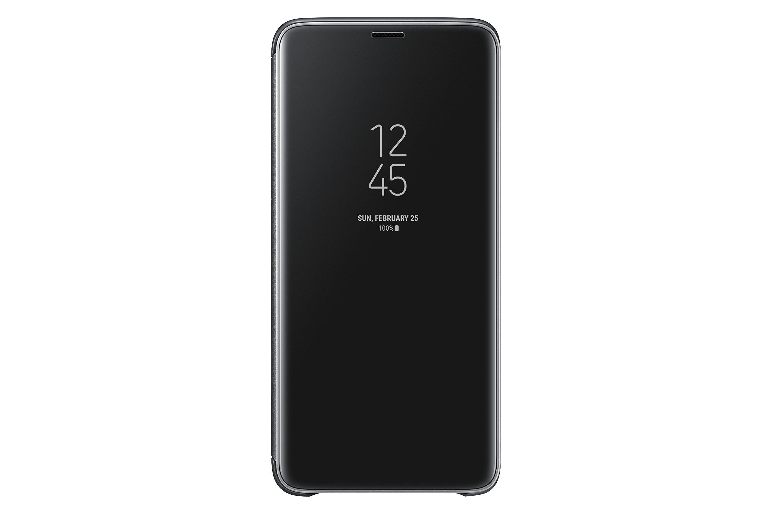 Samsung Galaxy S9+ S-View Flip Case with Kickstand, Black by Samsung