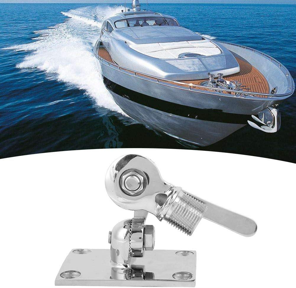 Akozon Base de montaje ajustable para barco 38 mm / 1.50 en ...