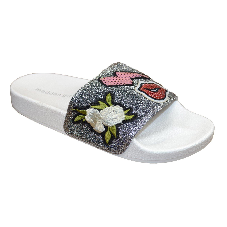 a7a3e39408c Amazon.com   Madden Girl Zimmy Women   Pewter   Sandals