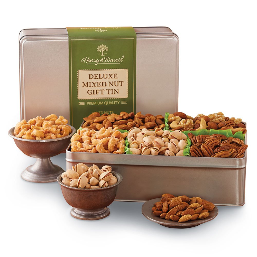Harry & David Deluxe Mixed Nuts Gift Tin