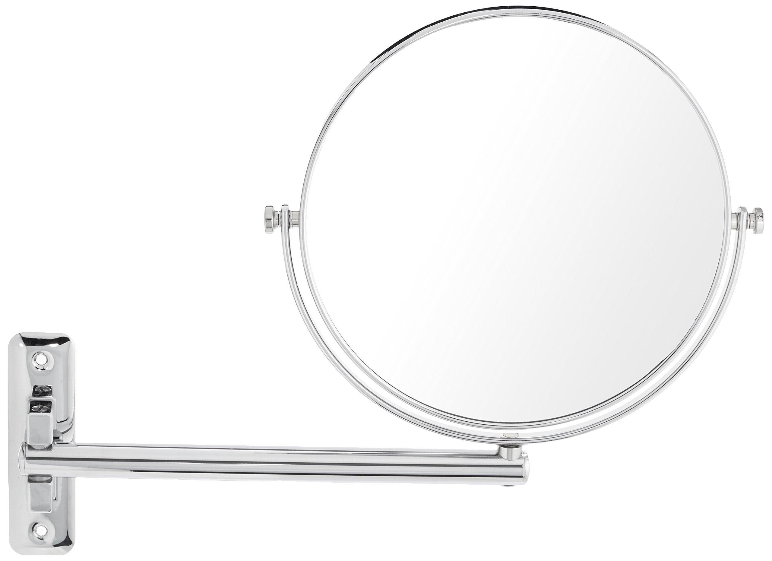 Frasco Mirrors Wall Mount Double Sided Mirror, Chrome, 2 lb.