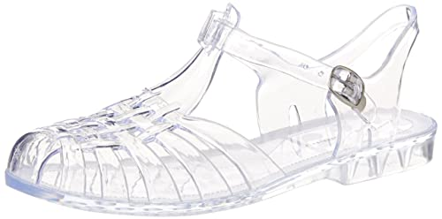 Chinese Laundry Women's Feliz Jelly Sandal, Clear, ...