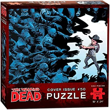 USAopoly The Walking Dead Cover Art Issue 50 Puzzle (550 Piece) by USAopoly: Amazon.es: Juguetes y juegos