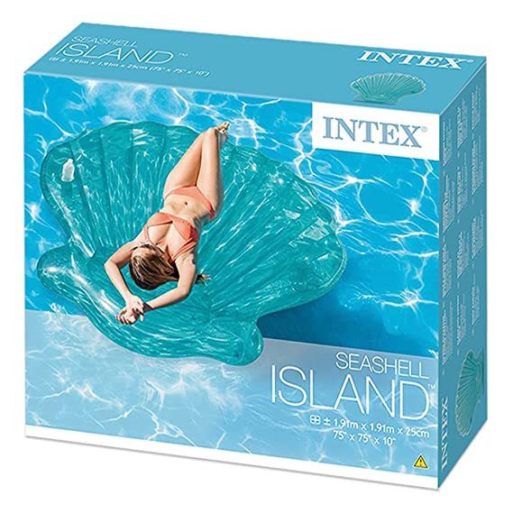 Amazon.com: Intex (Float Float mat Sea Shell Island 191 ...