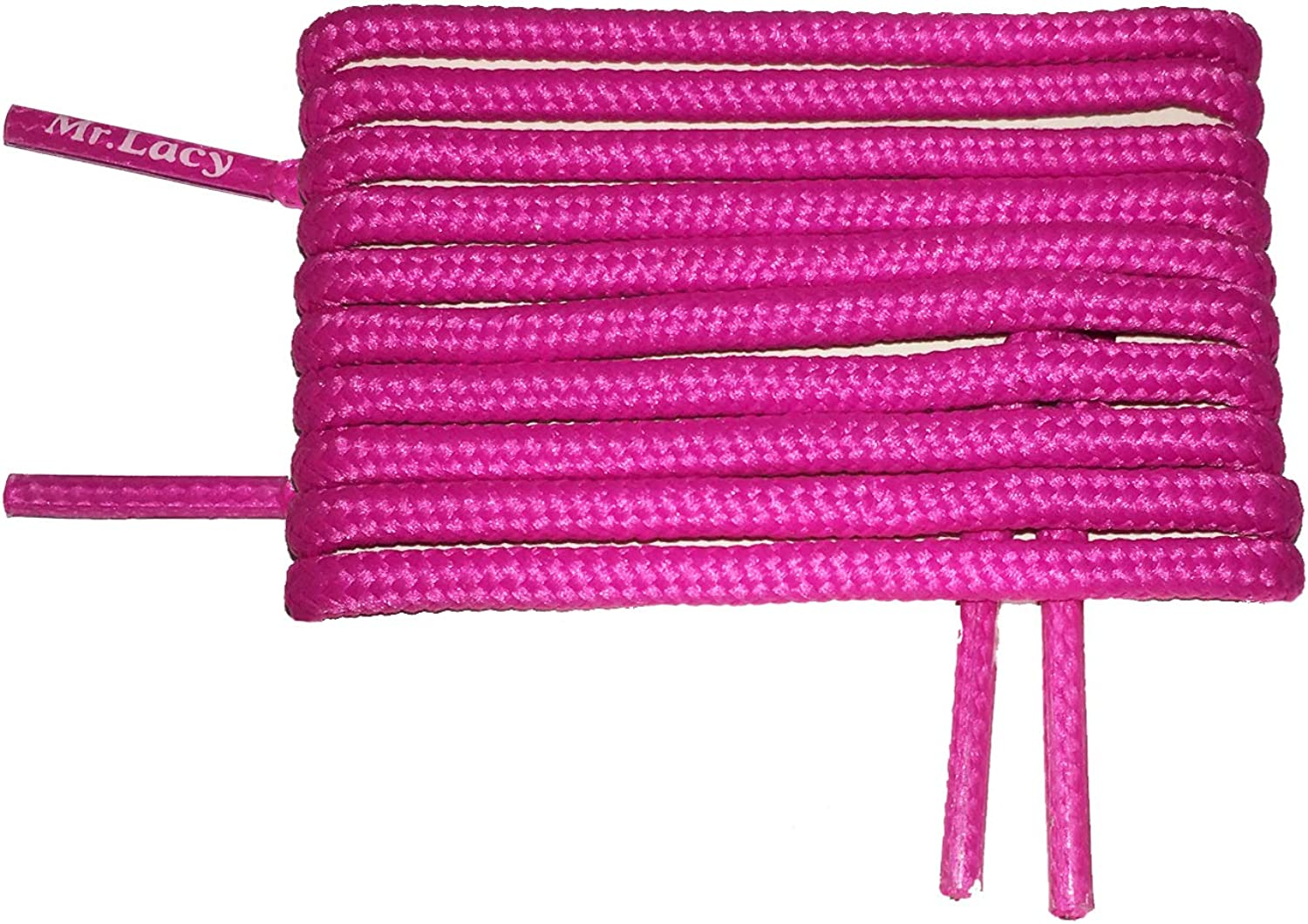 Laces Mr Lacy Pastel Pink Flat laces for sport sneakers and kids