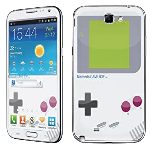 Samsung [Galaxy Note 2] Skin [NakedShield] Scratch Guard Vinyl Skin Decal [Full Body Edge] [Matching WallPaper] - [Game Boy] for Samsung Galaxy [Note 2]