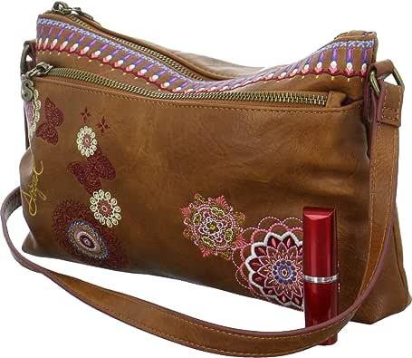 DESIGUAL Bag DURBAN Female Brown - 19SAXPB2-6000-U