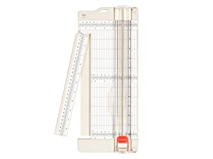 """Bira Craft paper trimmer and scorer with swing-out arm, 4.5""""X12"""", for Coupon, Craft Paper and Photo"""
