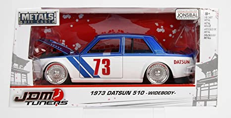 1:24 jada Datsun 510 Widebody 1973 red//white
