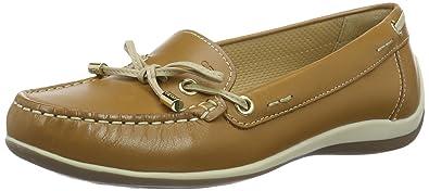 Geox D Yuki A, Mocassins (Loafers) Femme, (Lt Taupe), 39.5 EU