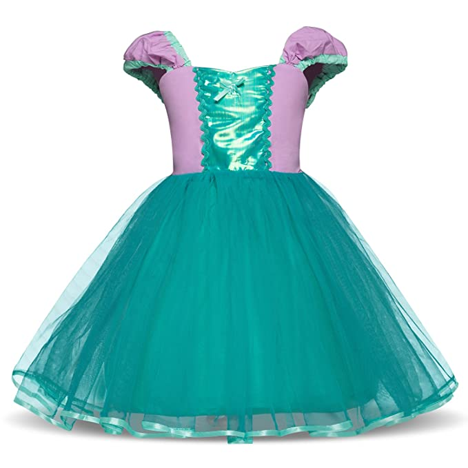 Amazon.com: colorfog princesa Alice vestido de Cenicienta ...