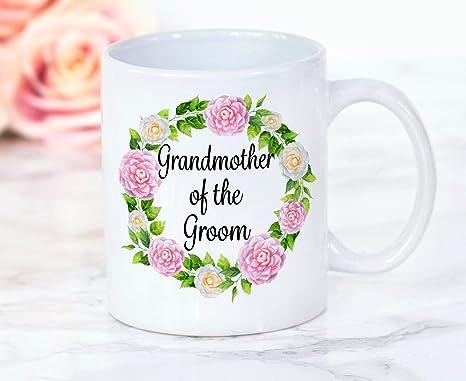 Amazon.com: Taza de café para boda, abuela, abuela, abuela ...