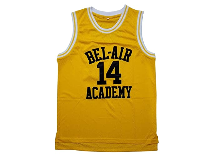Kooy Smith Fresh Prince Of Bel Air Academy Jersey Basketball Men (X-Large) 7f920e9d6216