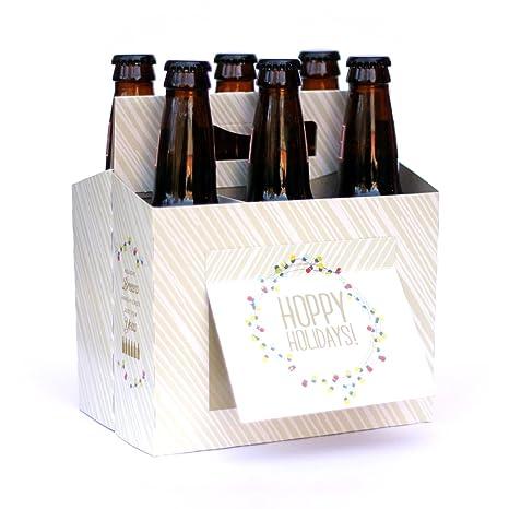 Amazon.com: Caja de cervezas con felicitación: Office ...