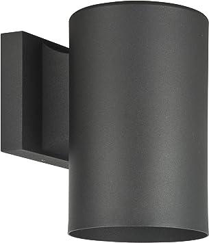 Luminance F6905 31 Contemporary 1 Fluorescent Light Exterior Wall Mount Fixture In Black Finish Lighting Products Amazon Com