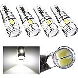 AUDEW 4 x T10 Canbus W5W 5630 6SMD Auto Véhicule Ampoule LED Voiture Lampe 19...